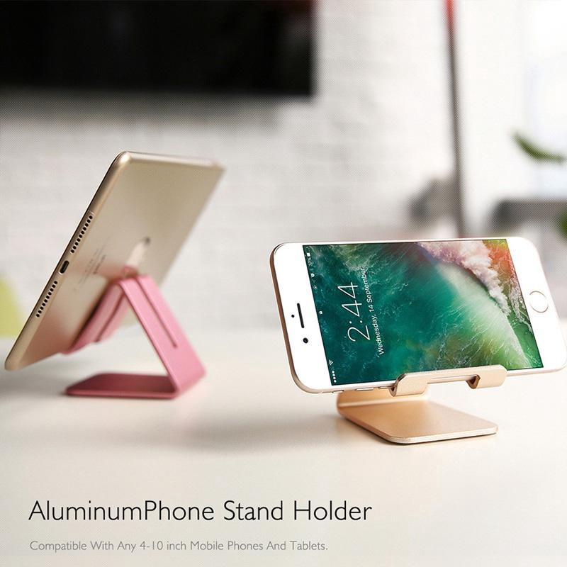 Metal Cell Phone Mobile Phone Stand Holder Tablet Stand Phone Holder for Smartphones