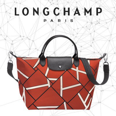 3f8e3cd6ccb9 Longchamp Le Pliage Neo Long Handle Large