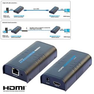 💗Irenen💗LKV373A V3 0 HDMI Extender 1080P Over Lan RJ45