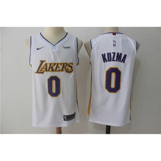 the latest 232a2 afb17 season anti-ji NBA shirt Lakers 0 Kyle ' s horse jersey ...