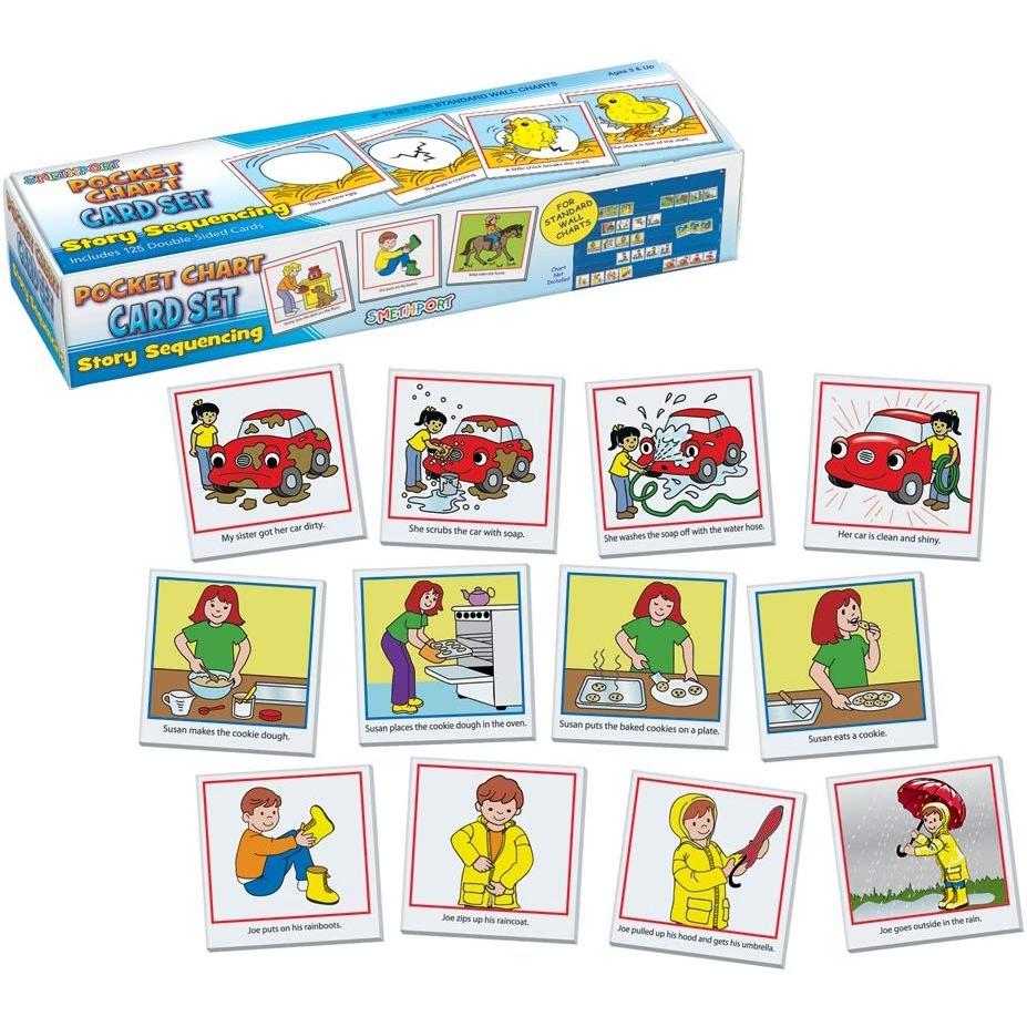 Smethport Pocket Chart Cards Sight Words by Smethport