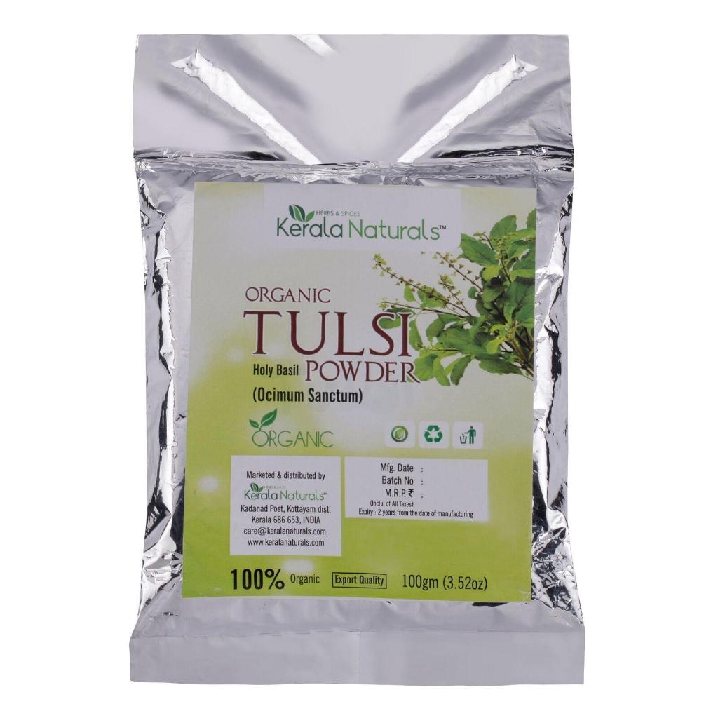 Organic tulsi powder 200gm cst