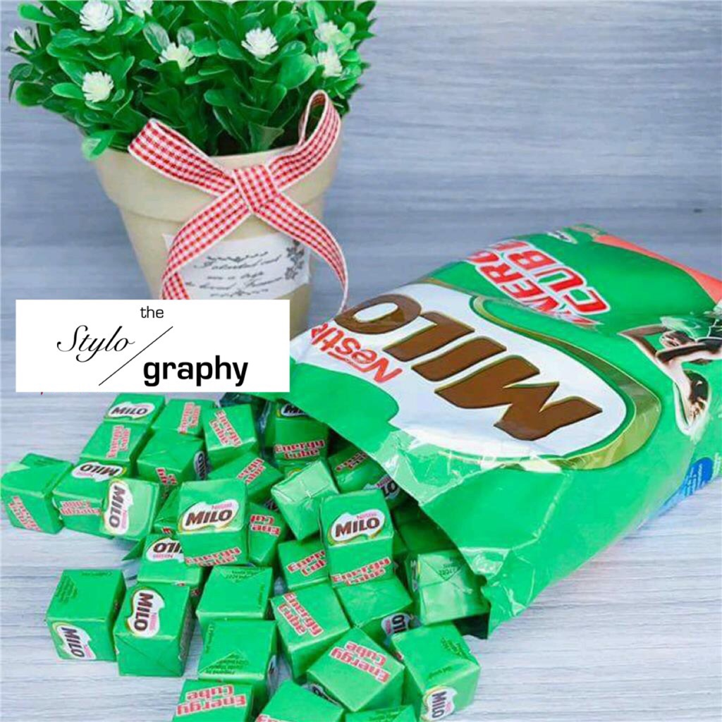Milo Energy Cube 100cubes Packet Shopee Singapore 2 Pack