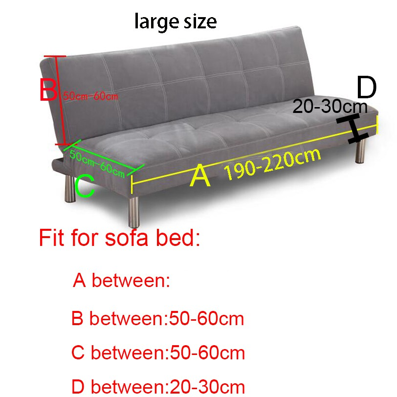 No Handrail Sofa Bed Covers