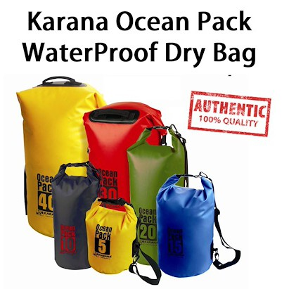 a7176a96bcc Karana Ocean Pack Waterproof Dry Tube Bag Dry Backpack