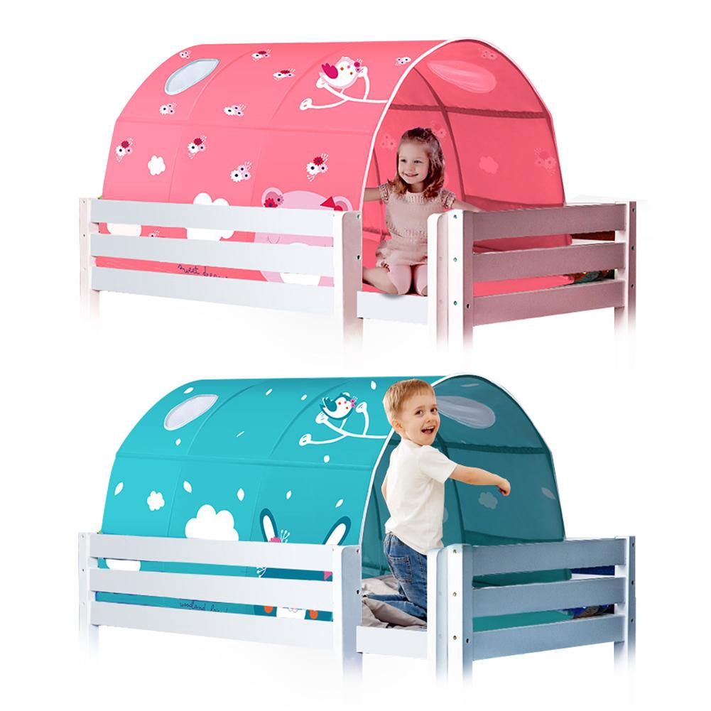 Lu Starlight Bed Canopy Dream Kids Play Tents Playhouse Privacy Space Twin Sleeping Indoor Grow In The Dark Stars Shopee Singapore