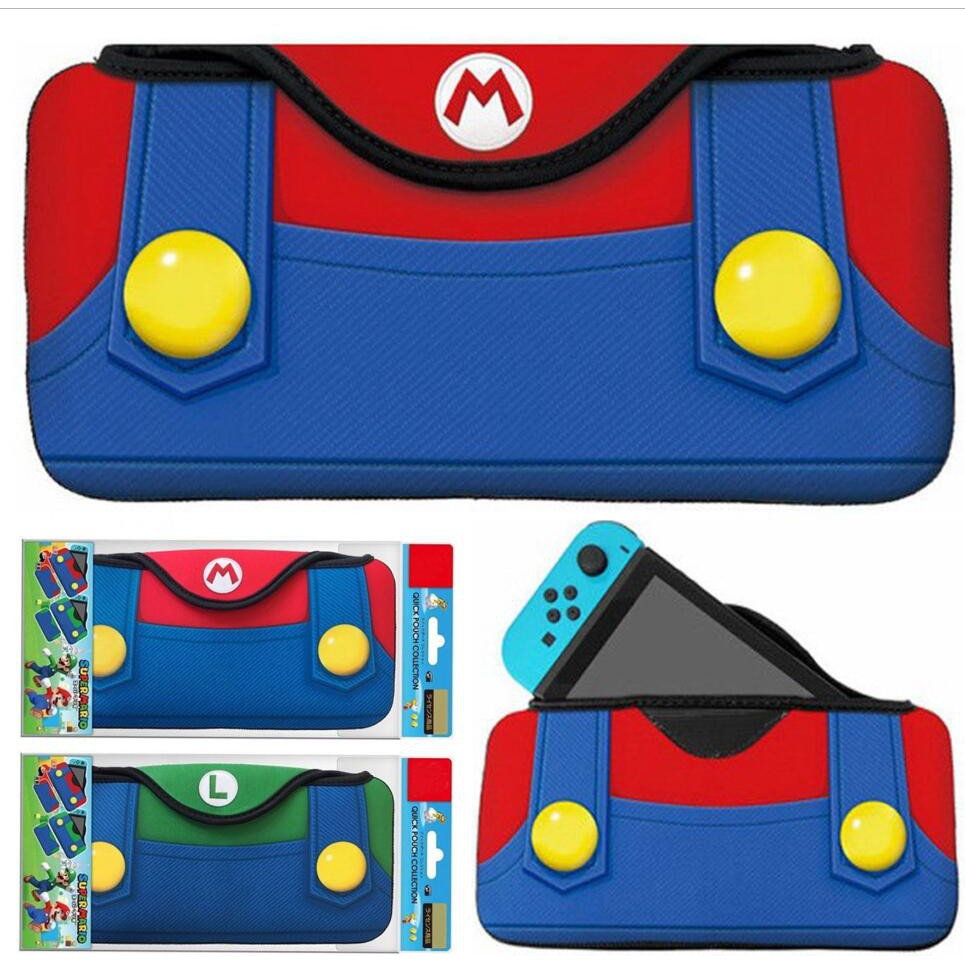Super Mario Quick Pouch For Nintendo Switch Type A Shopee Singapore Splatoon2