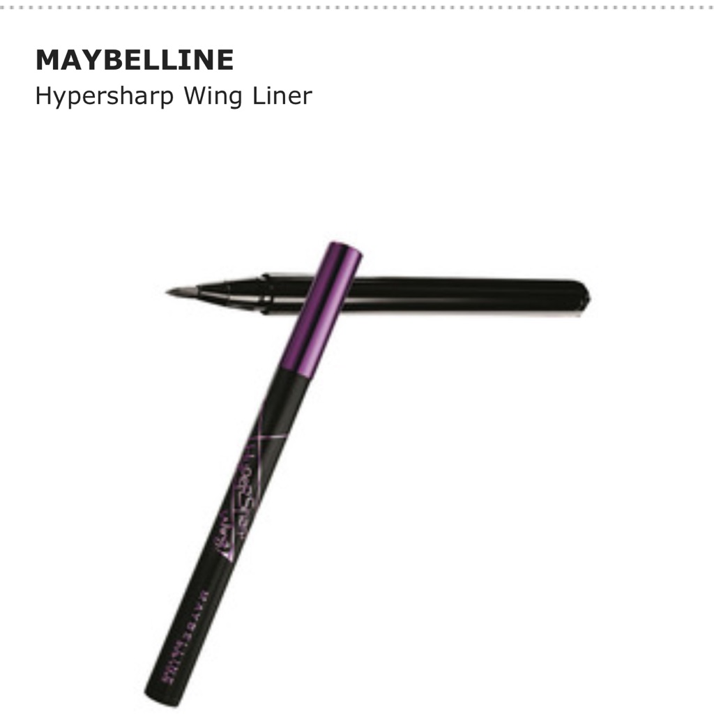Lilyhuang92 Online Shop Shopee Singapore Maybelline Hyper Sharp Wing Eyeliner