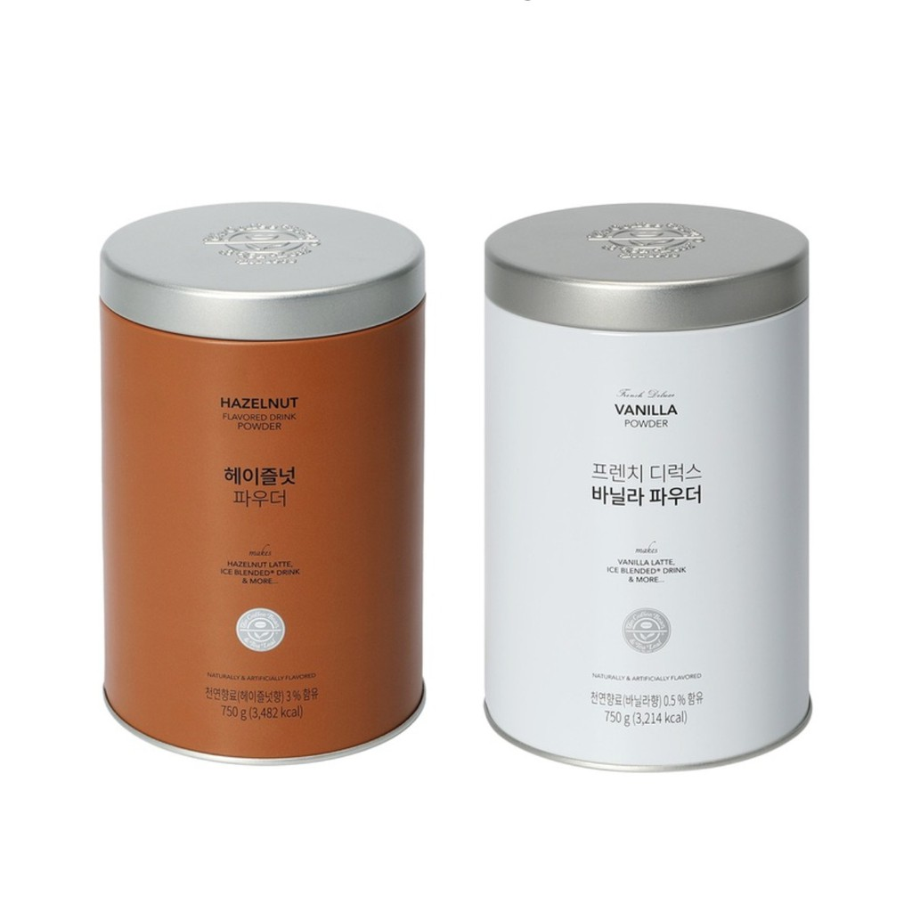 Coffee Bean French Deluxe Vanilla Powder 750g Hazelnut Powder 750g For Latte Shopee Singapore