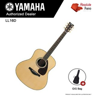 YAMAHA LL16D (ARE) - Acoustic Guitar | Shopee Singapore