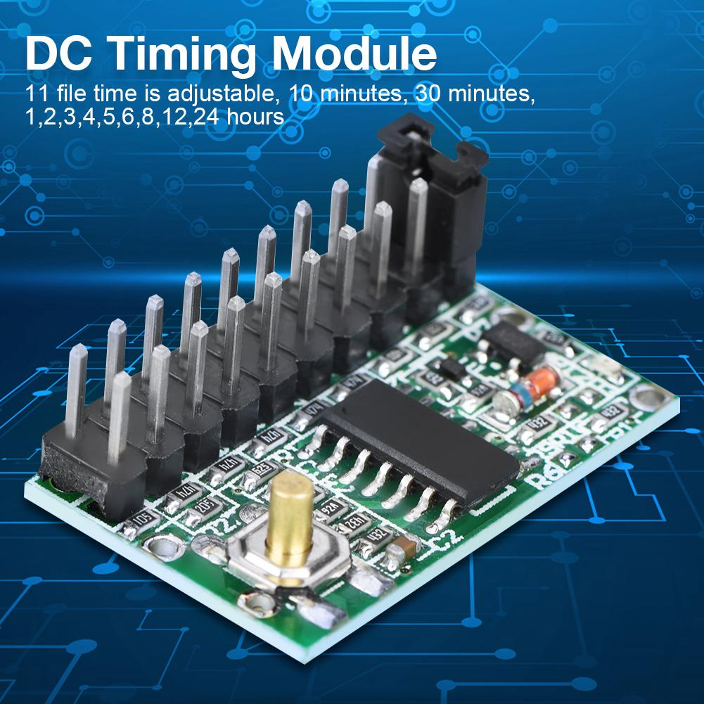 DC 5-35V 2A Cycle Time Delay Timer Switch Module 10m~24h