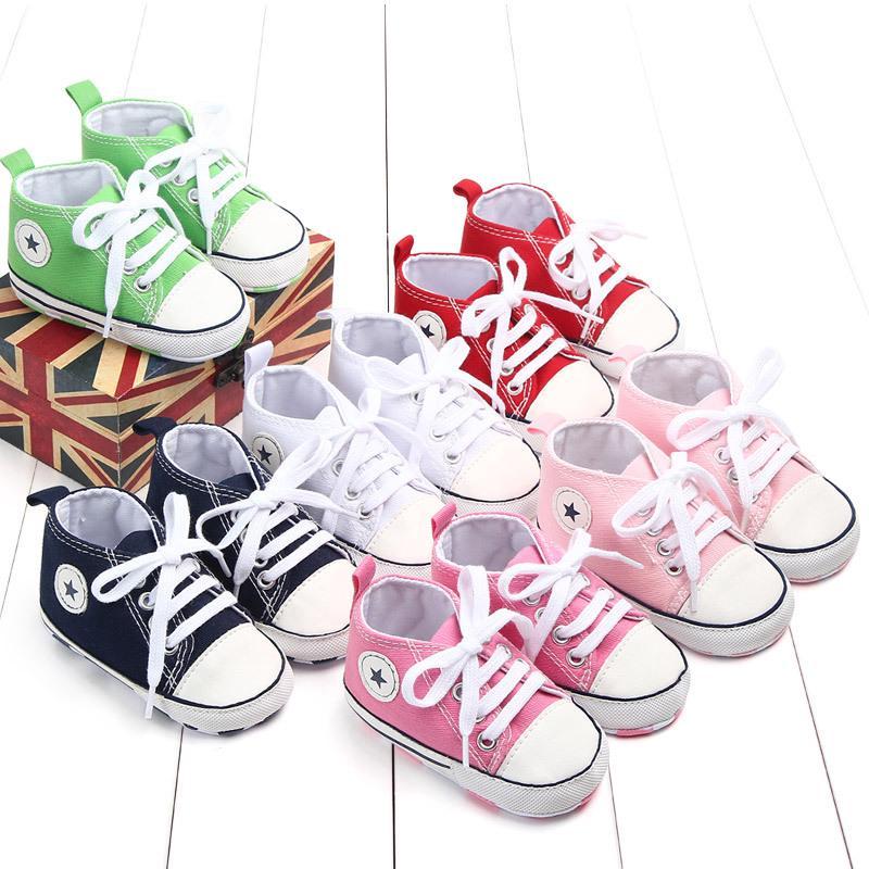 Lurryly Children Kids Baby Boys/&Girls Letter Flower Print Skate Sneakers Shoes 4-10 T