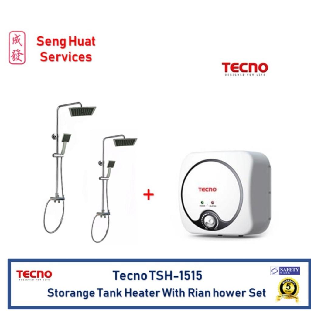 Tecno Storage Water Heater 25 Litres Tsh 1 025cb Shopee Singapore Ariston Andris R 10 L 200 Watt Electric Watet