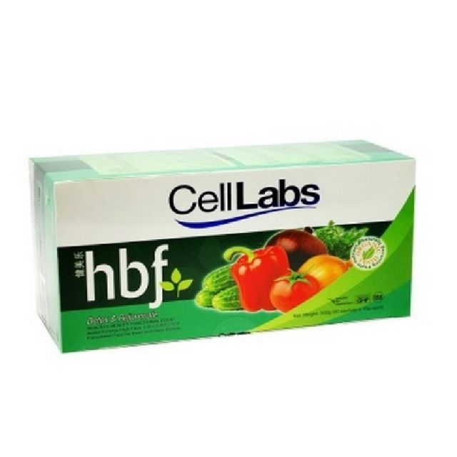 Cell Labs Hbf D'Tox DETOX & Rejunevate 20 Sachets X 15G