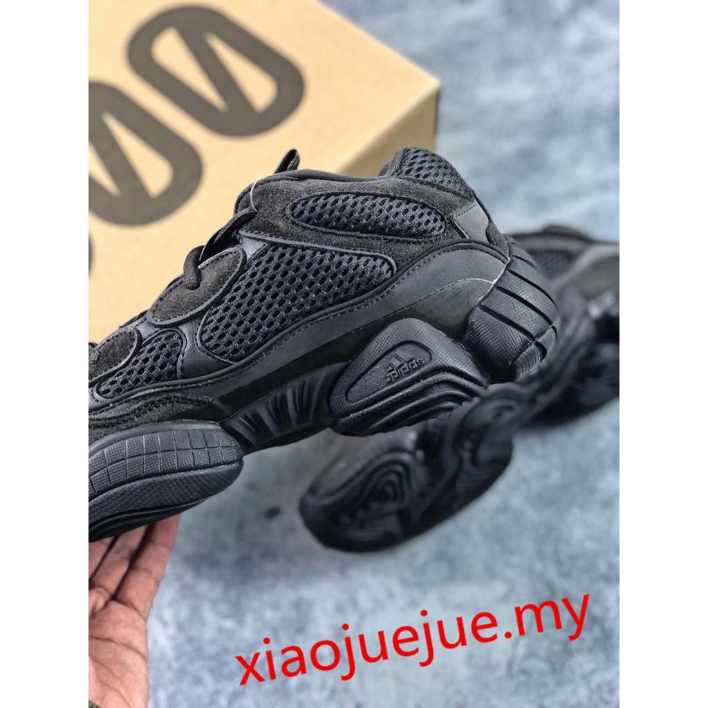 dcf78fb392b41 Adidas Yeezy Desert Rat 500 (Utility Black)