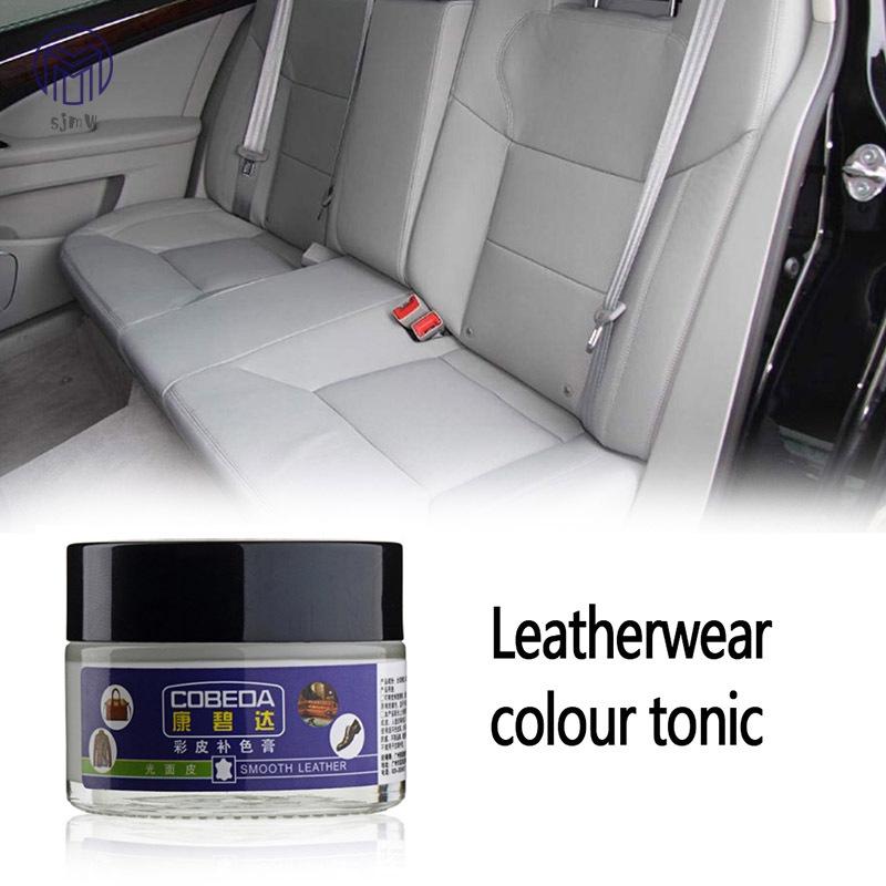 Sjmw Leather Vinyl Repair Cream Auto Car Seat Sofa Holes