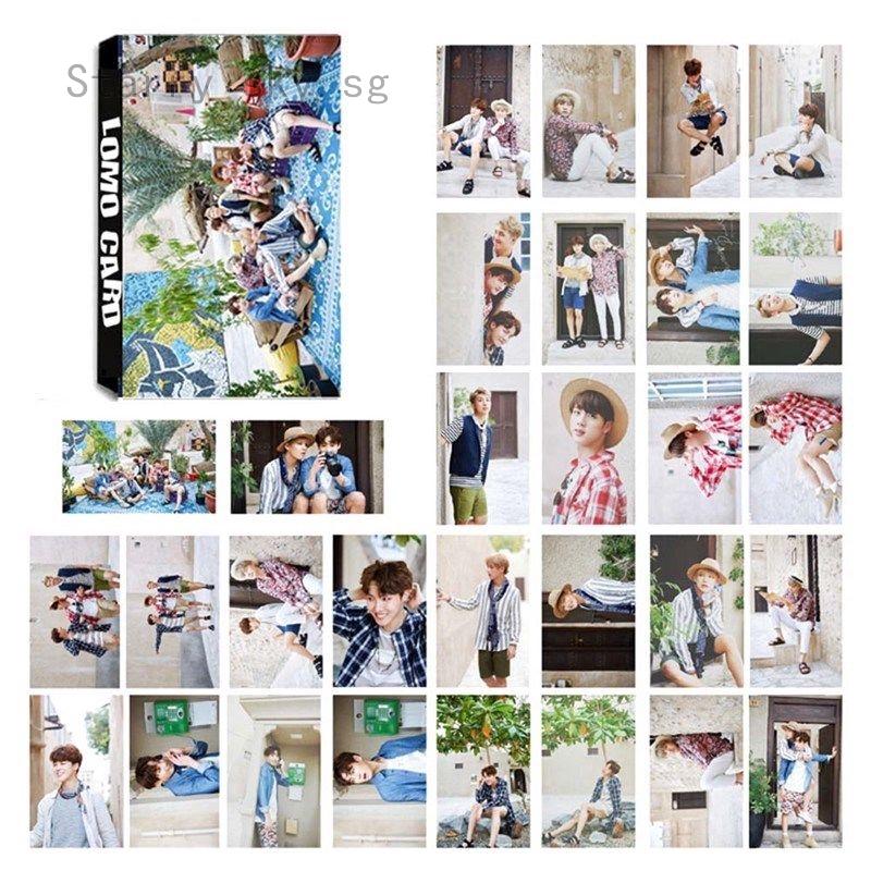 Kpop Bts Bangtan Boys Summer Package Lomo Card Photo Card Suga Jin