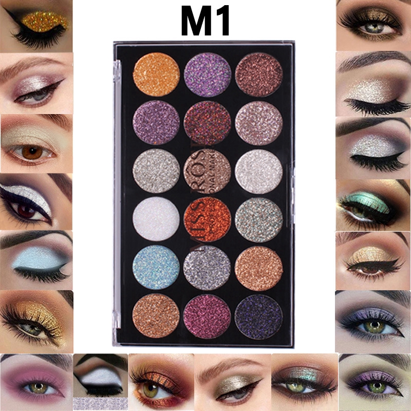 Strong-Willed Beauty Glazed 9colors Eyeshadow Palette Makeup Shimmer Matte Glitter Pigmented Eye Shadow Powder Palette Easy To Wear Shadow Kit Fine Craftsmanship Eye Shadow