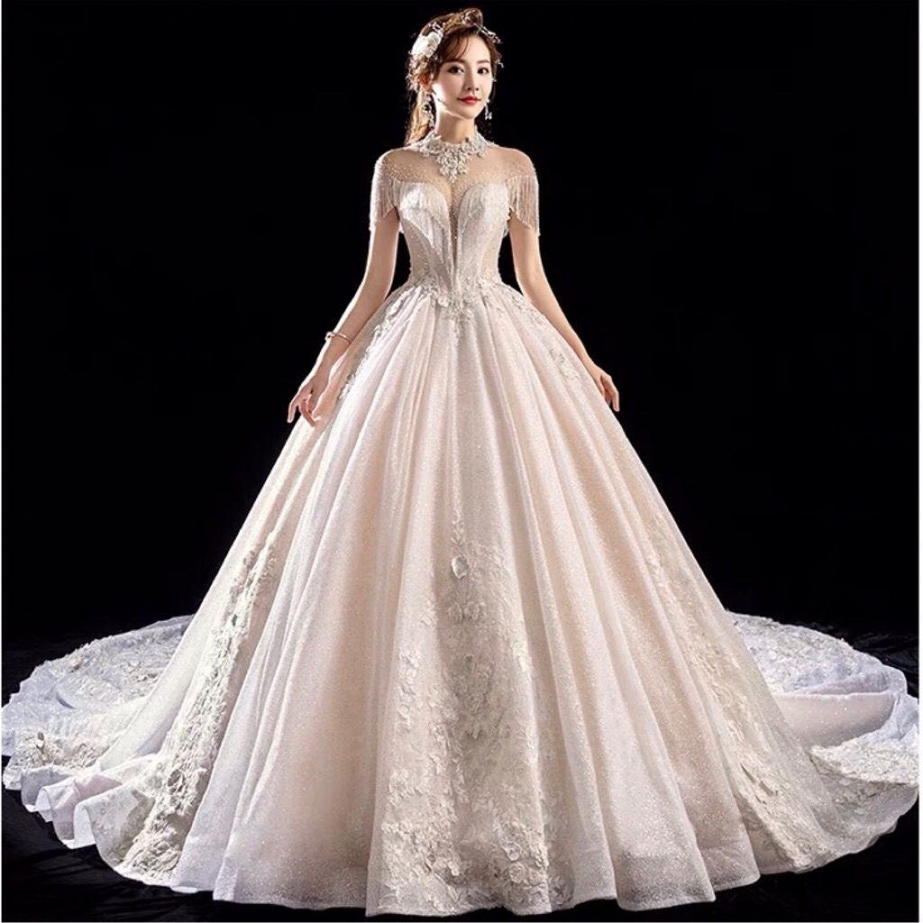 ball gown wedding gowns bridal dress beading luxury wedding dress