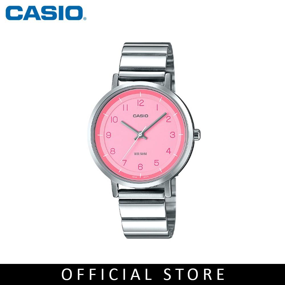 Zuren Casio General A168wem 2 Silver Stainless Steel Band Women 1302d 1a2 Strap Jam Tangan Couple Watch Shopee Singapore