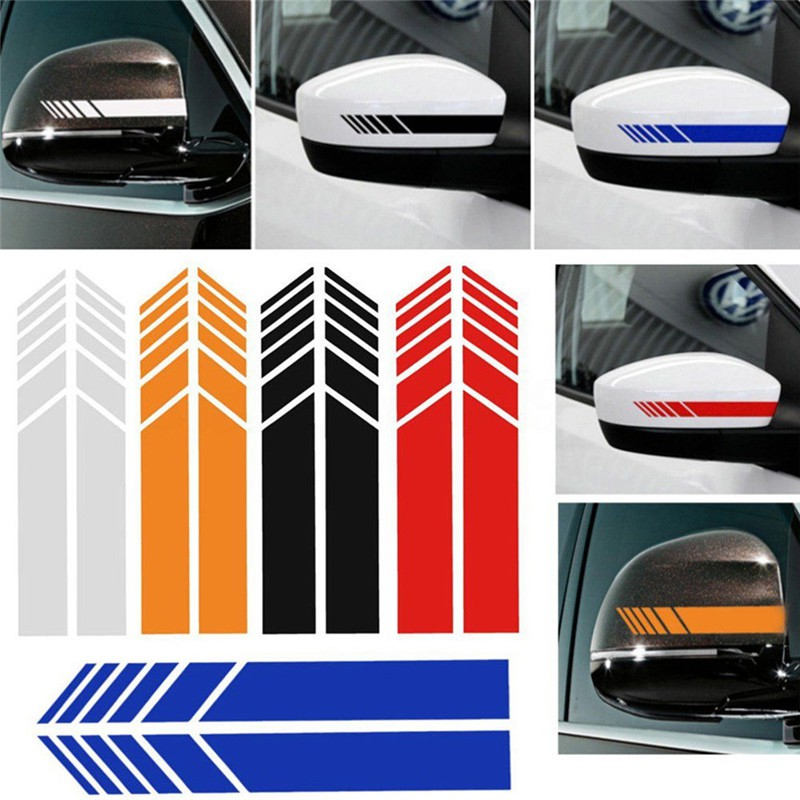 2x Car SUV Side Body Door Black Star Vinyl Decals Decoration Sticker Waterproof