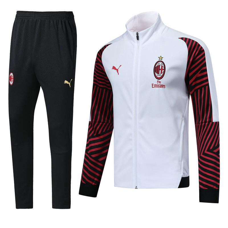 separation shoes 01005 ec398 18/19 AC Milan SWEATER JERSEY JACKET TRAINING jerseys ...