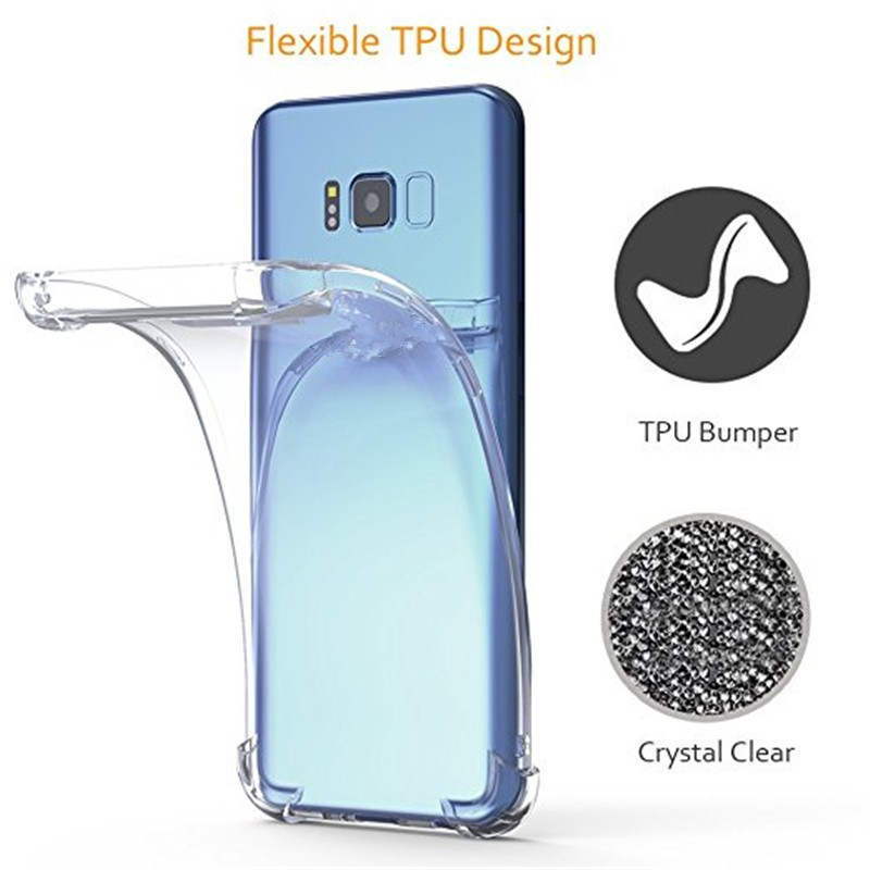 Clear Silicone Phone case For Oppo R9 R9S R11 R11S R13 R15 Plus Soft cover