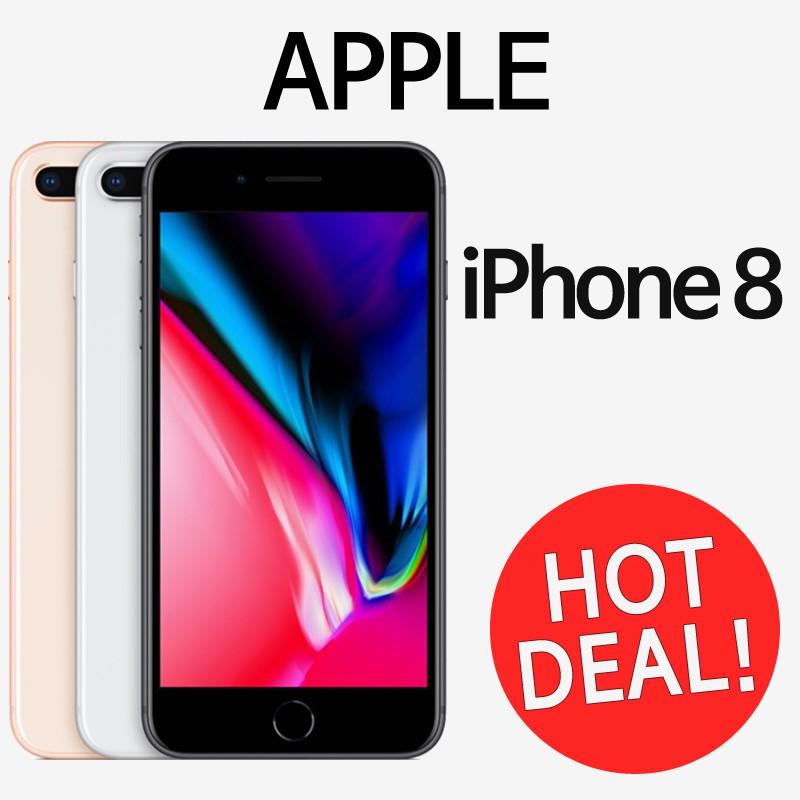 Apple iPhone 8 / 8 Plus Refurbish Mobile /64GB / Free Gift / Used Smartphone