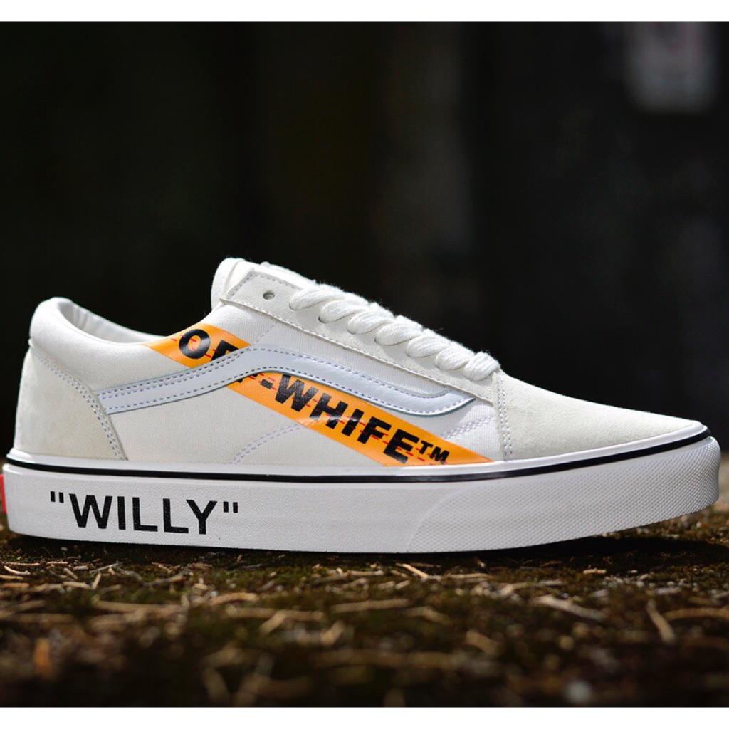 OFF-WHITE X VANS Old Skool  18d14bff9