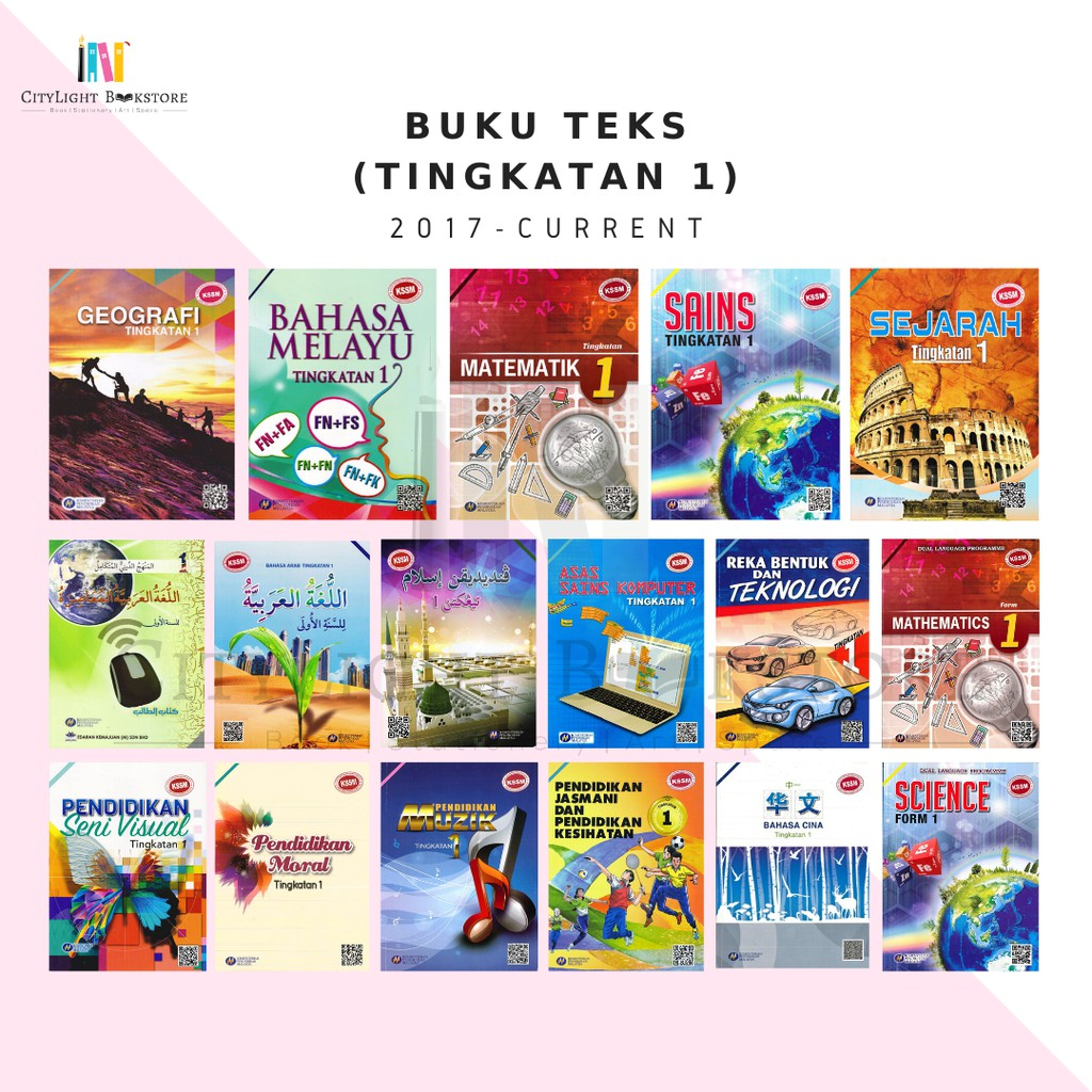 Citylight Textbook Buku Teks Tingkatan 1 Kssm Shopee Singapore
