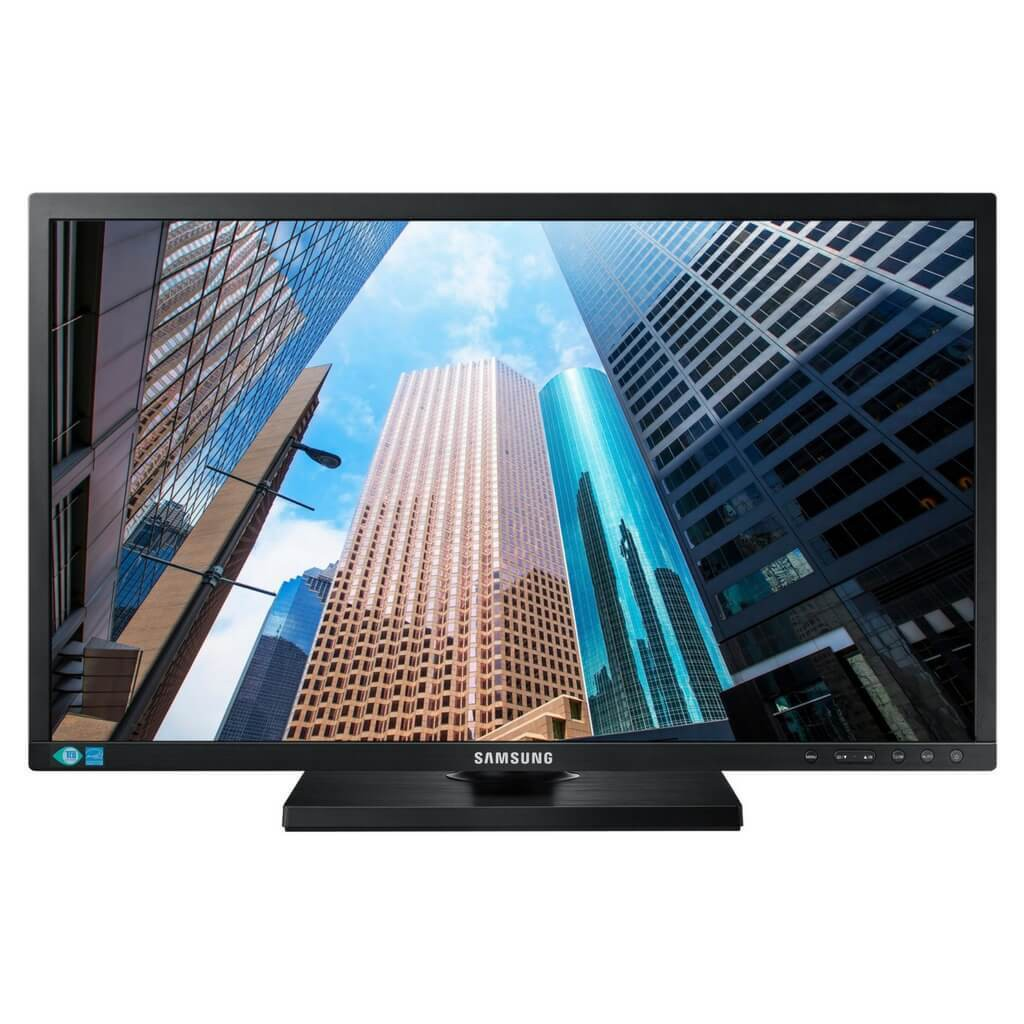 Samsung S24f350fhe 24inch Led Hdmi Full Hd Monitor Shopee Singapore C24f390fhex 24 Inch Curved Vga Input