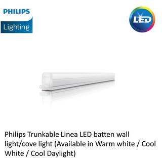 Philips Trunkable Linea LED batten wall light/cove light 4ft