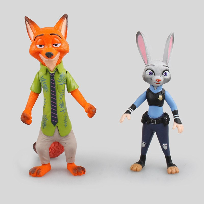 ZOOTOPIA JUDY RABBIT FOX NICK PUFFY STICKER PARTY LOLLY BAG TREAT BOX GIFT FAVOR