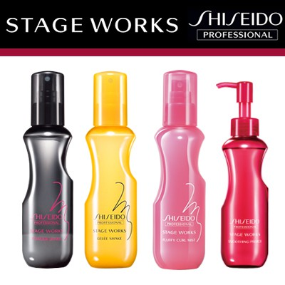 Shiseido Stage Works Powder Shake/Gelee Shake/ Bouncing Primer/ Super Hard  Paste