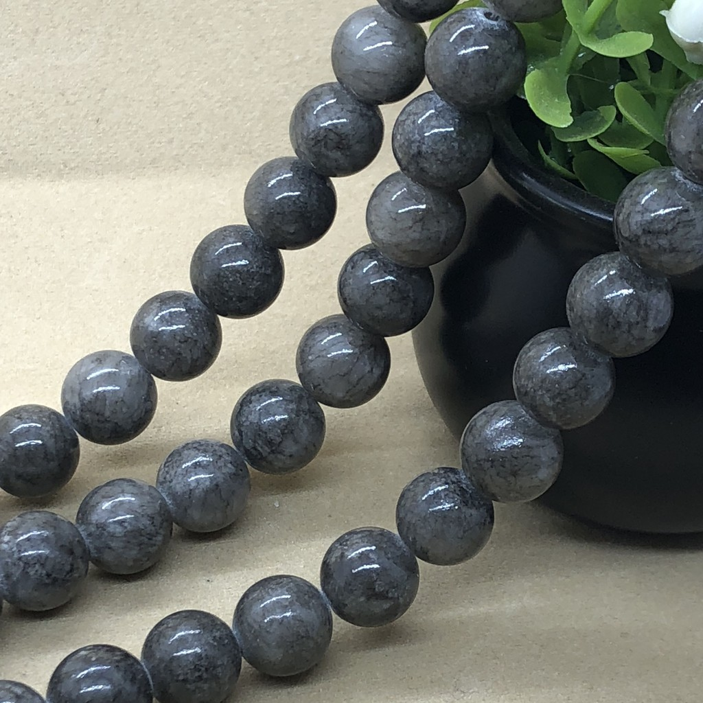 Cube Beads 6mm Grey 62 Pcs Gemstones Jewellery Making Hematite Non Magnetic