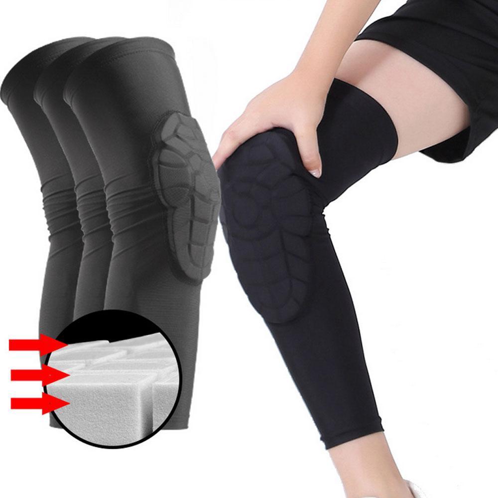 b6fa627fdd Kids Basketball Knee Pads Kneepad Honeycomb Leg Knee Sleeve Protective |  Shopee Singapore