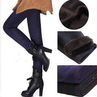 outlet sale top-rated authentic free shipping Winter Plus Size Thickening Warm Leggings Pockets Women Pants