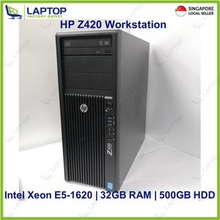 HP Z420 Workstation (Xeon/32GB/500GB) Preowned [Refurbished