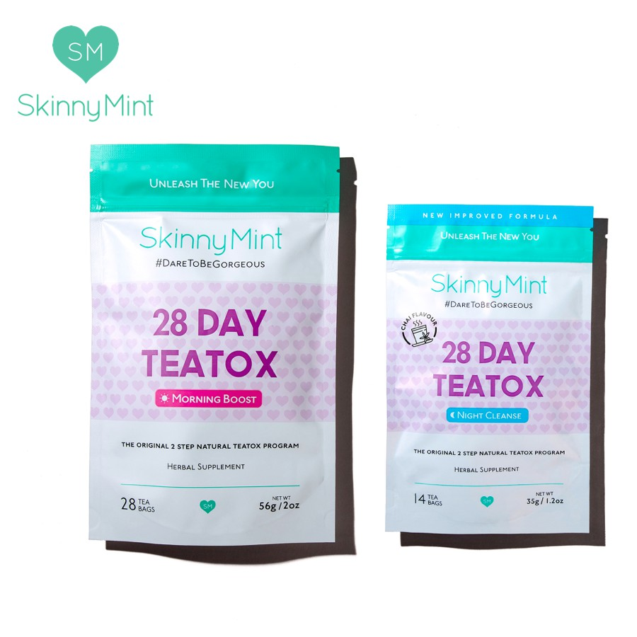 SkinnyMint 28Day Ultimate Teatox