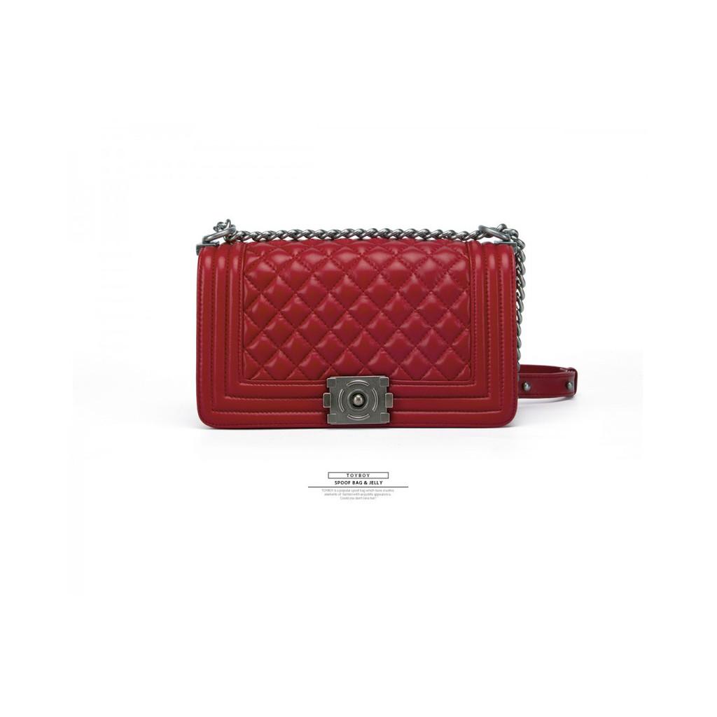 ea9af76b6c75 TOYBOY LUXURY series Lambskin bag 25cm(Red color) CHANEL FUN ...