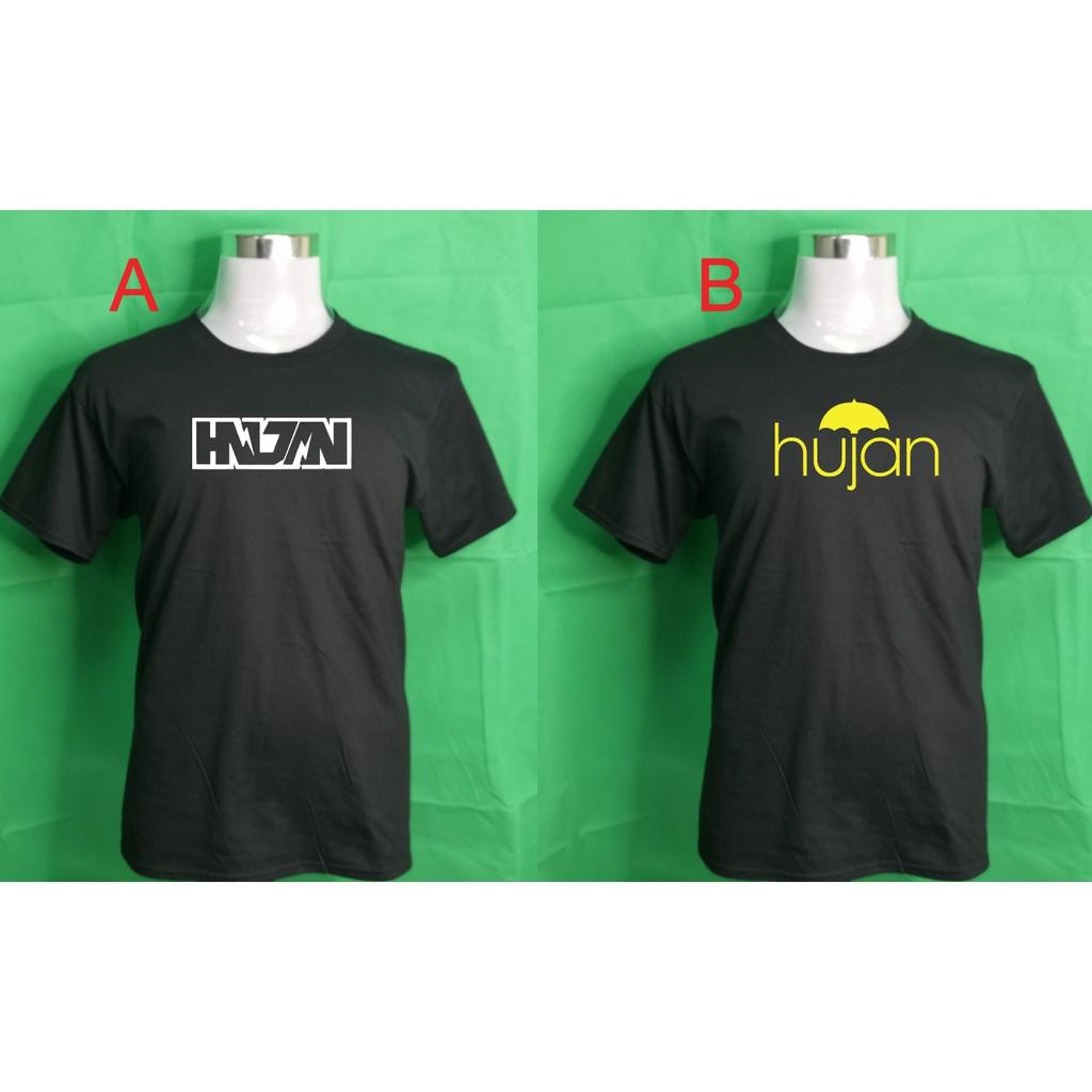 Hujan Rock Band T Shirt Shopee Singapore
