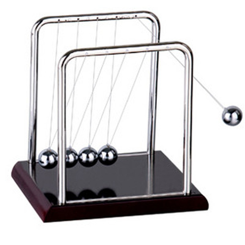 Newtons Cradle Balance Ball Timeless Swing Children Learning Education Toy Kids Desk Decor Gift Physics Classic Science Fun Toy Sales Of Quality Assurance Home
