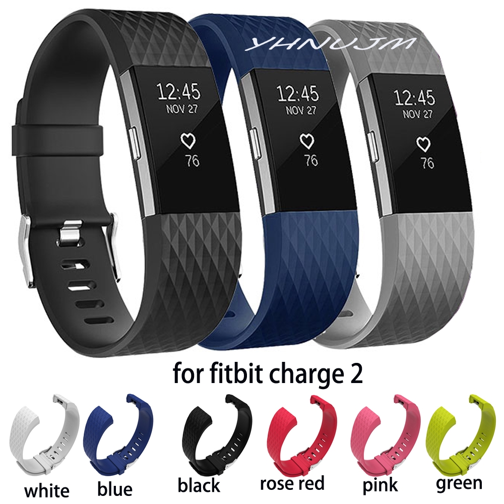 Ionic or Charge 2 Sport//Classic Accessory Band Black or Blue Fitbit Alta