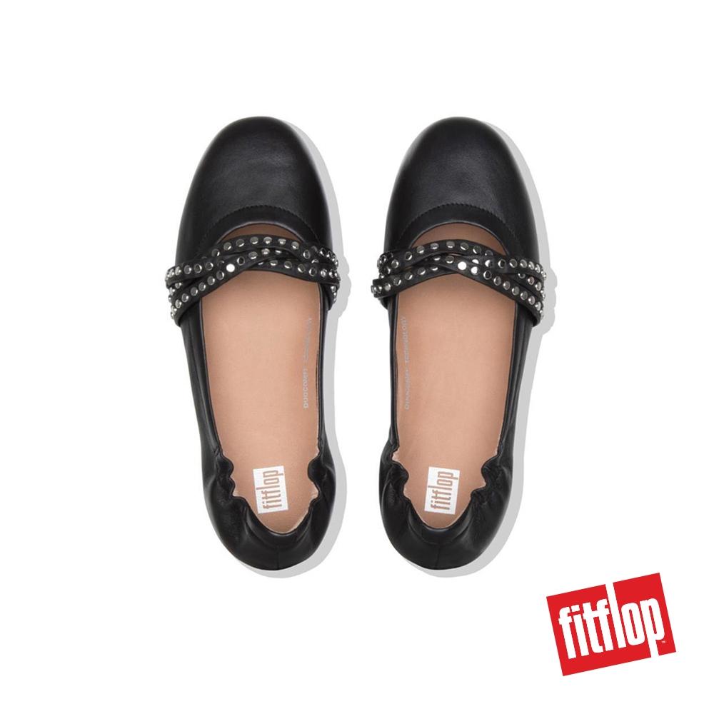 eleganckie buty zawsze popularny dobra obsługa FitFlop™ Allegro™ Womens Rockstud Strappy Leather Ballerinas ...