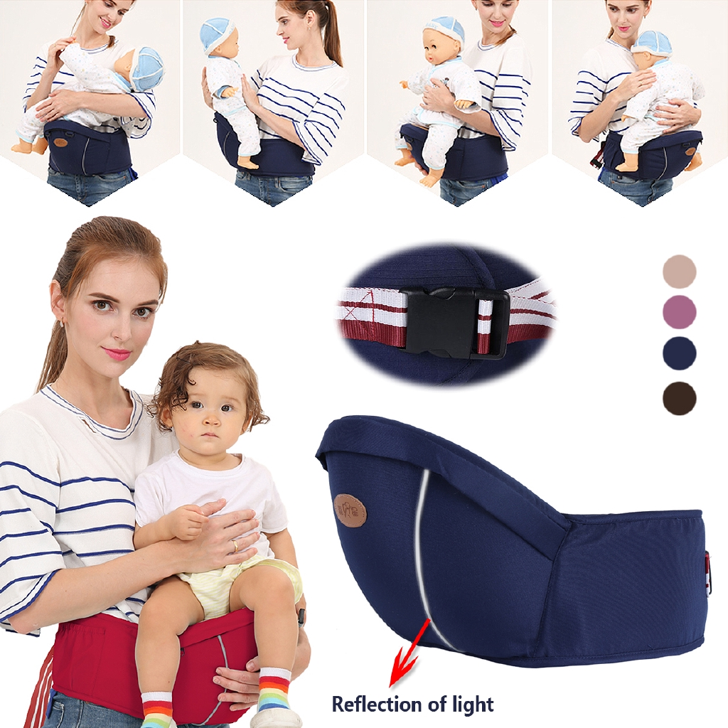 Infant Baby Toddler Hip Seat Carrier Baby Waist Seat Chair Toddler Front Carrier