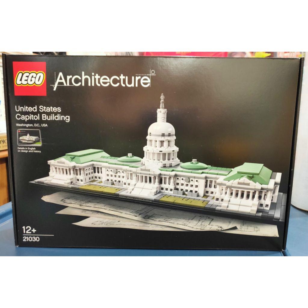 Lego 21030 Architecture United States Capitol Building Free Shipping Shopee Singapore