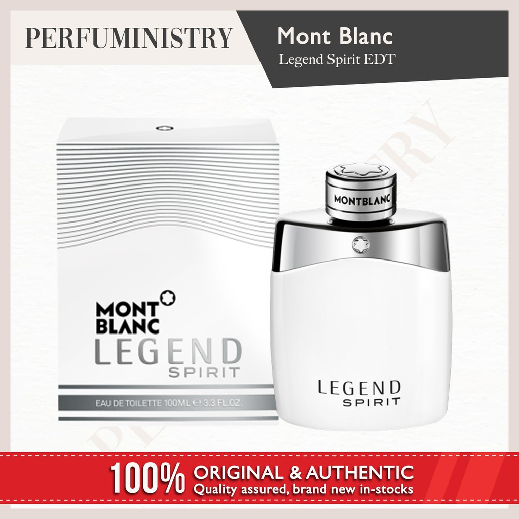Mont Blanc Legend For Mens Tester Pack 100 Authentic Shopee Parfum Original Men 100ml Singapore