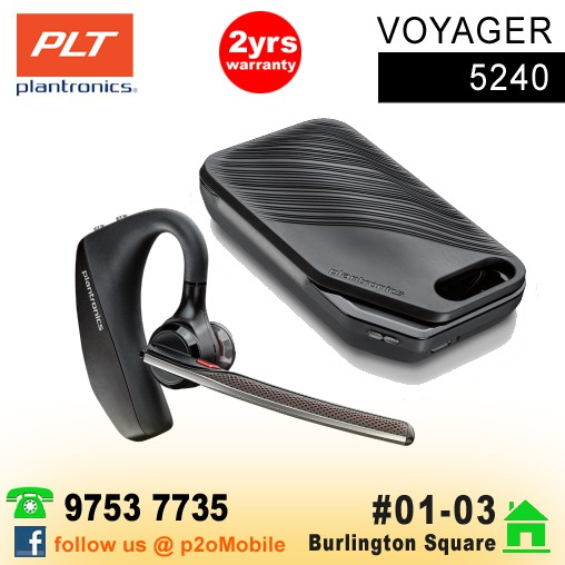 6800b4697d1 Plantronics Voyager 3240 with Charge Case Bluetooth Headset | Shopee  Singapore