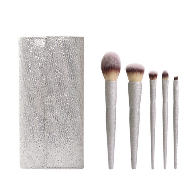 Beauty & Health New 7pcs Cardcaptor Sakura Makeup Brush Set Solid Metal Magic Wand Sailor Moon Blending Eyeshadow Brush Kit Teen Girl Gift Brush