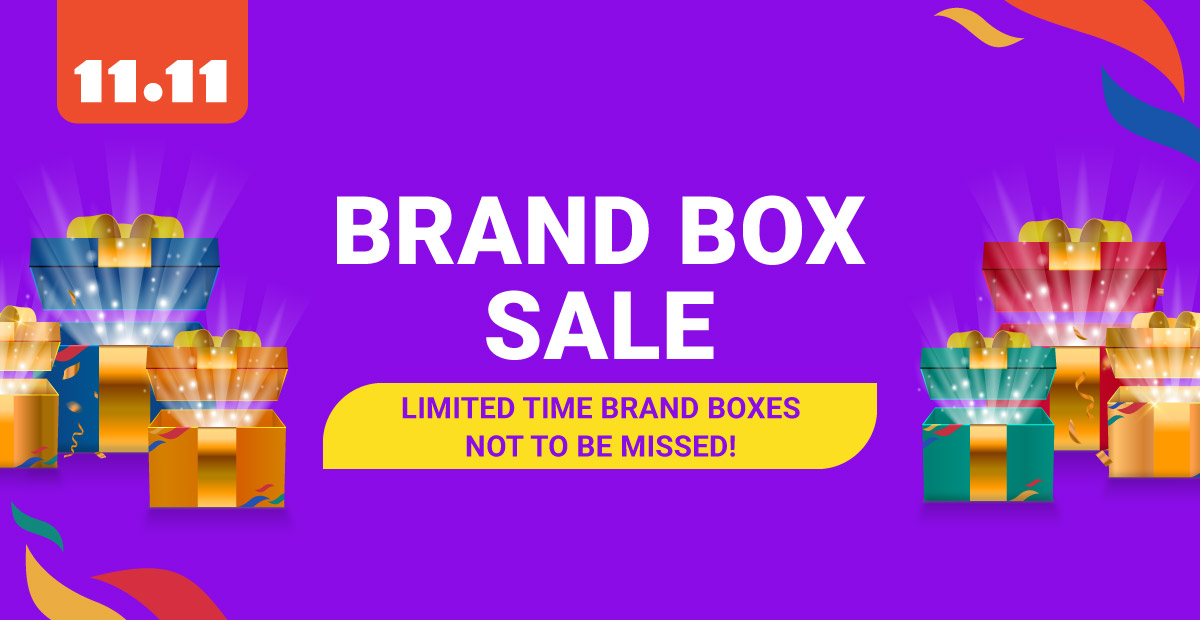 Shopee Brand Box Sale 11.11